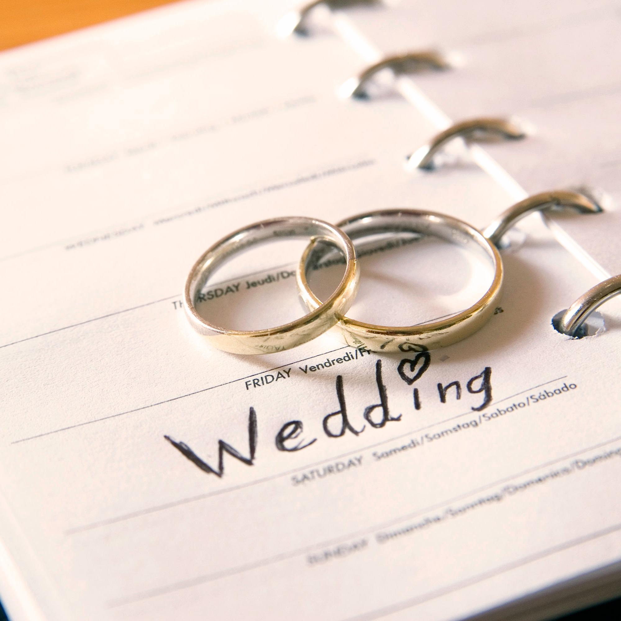 Какие бывают свадьбы по годам от 1 до 100 лет 78