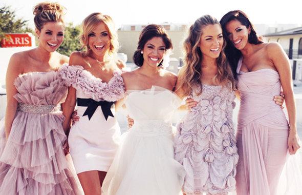 Платье подружка невесты