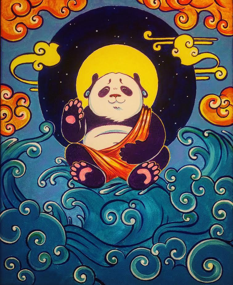 panda buddha 2 — копия