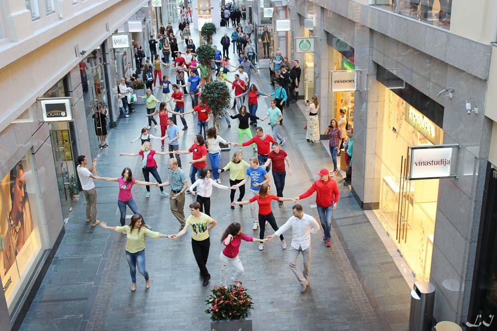 zouk flashmob