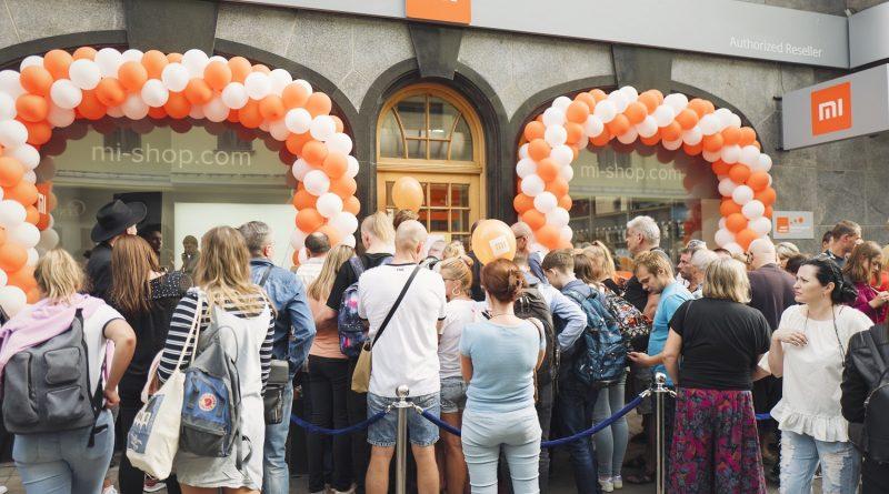 XIAOMI в Латвии — успех, очереди, подарки и сюрпризы