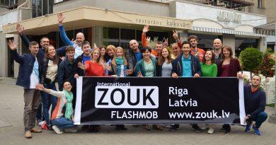 16 сентября в Риге пройдёт ежегодный зук-флешмоб