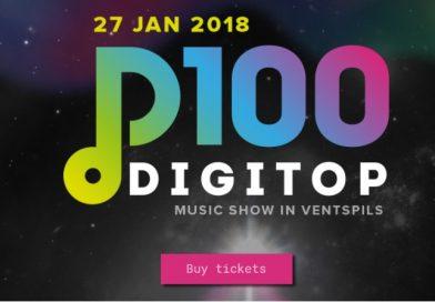 В Латвии стартует новый музыкальный проект DIGiTop100