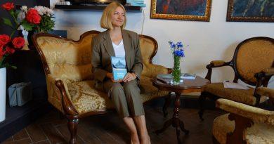 Латвийская писательница Марина Галевска издала свою вторую книгу.