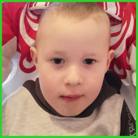 4-летнему Родиону Солнышкину нужна помощь. Латвия